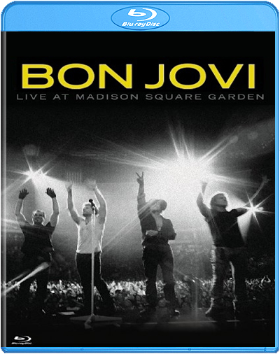 Blu ray bon jovi live at madison square garden for Bon jovi madison square garden